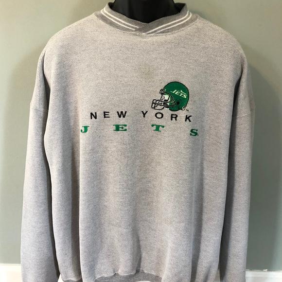64debf31 80s New York Jets Sweatshirt Vintage NFL Football
